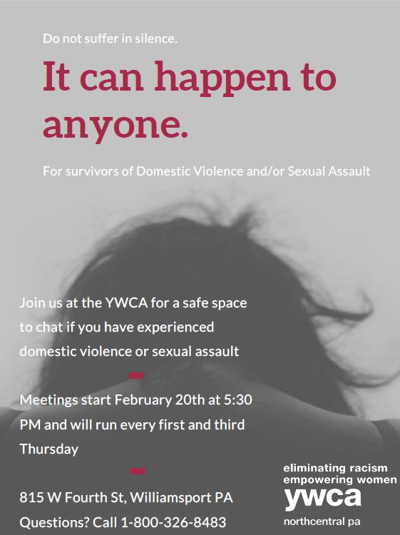 For survivors of Domestic Violence/Sexual Assault. Allow us to help you find yourself again. Don't suffer in silence when help is so close.